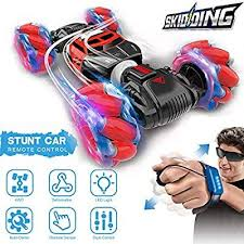GoolRC RC Stunt Car Remote Control Car, 4WD <b>Watch Gesture</b> ...