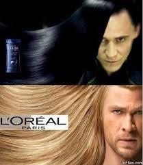Gallery for - thor hair ad via Relatably.com