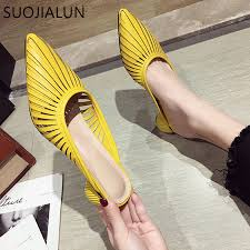 SUOJIALUN 2019 <b>Summer New Designer</b> Slippers Women Mules ...