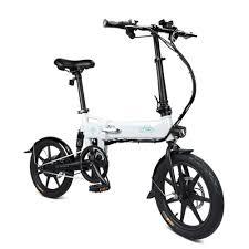 <b>FIIDO D2 16 Inch</b> Folding Power Assist Eletric Bicycle