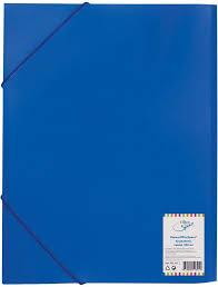 "<b>Спейс Папка</b> на резинке ""Office Space"" A4, 500 мкм, синяя"