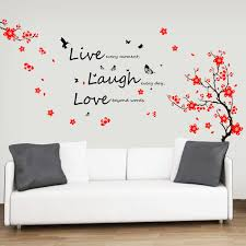 wall decal family art bedroom decor wall art  bedroom decoration items bedroom wall decor d d bird butterfly wall stickers bedroom home decoration huge flower blossom wall decal high quality vinyl wall art quote master bedroom sofa furniture