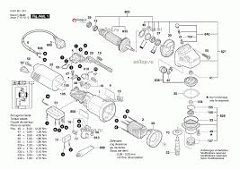 Запчасти для <b>штробореза Bosch GNF 35</b> CA деталировка 1 ...