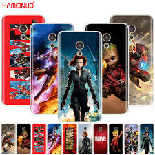 HAMEINUO Marvel superheroes Cover <b>phone Case for Meizu</b> M6 ...