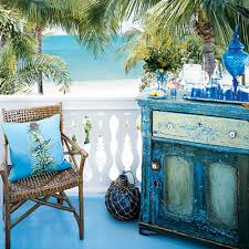distressed painted furniture idea with a beach theme beachy furniture