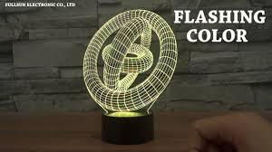 Star Wars 3D Illusion Darth Vader LED Bulbing Table Lamp Night ...