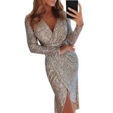 xuru new fringed sexy womens sequin dress ladies sleeveless halter luxury club party