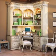 marvelous corner desk with hutch in home office traditional with corner daybeds next to corner armoire alongside studio kitchen and desk armoire chic corner office desk