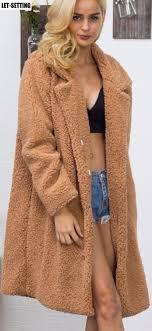 new fashion <b>European American autumn winter</b> long faux fur coat ...