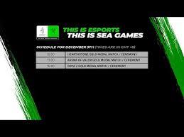 Philippines vs Thailand - <b>Dota 2</b> - 30th Southeast Asian <b>Games</b> ...
