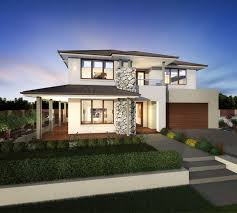 Double Story House Plans With Balconies   Free Online Image House    Two Story House Facades For Homes Designs on double story house plans   balconies