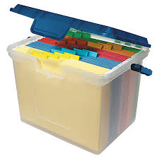 office depot brand portable file box 10 1116h x 14 boxes stack office file