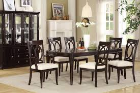 Arm Chairs Dining Room Dining Table With Side Arm Chairs And China Curio In Dining Room
