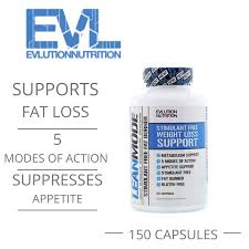 "EVLution Nutrition: ""<b>Lean Mode</b>"" <b>Stimulant-Free Fat</b> Burner (150 ..."