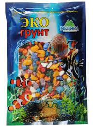 <b>Цветная мраморная крошка Эко</b> грунт 5 10mm 3 5kg Микс г 0267 ...