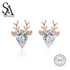 2019 <b>SA SILVERAGE</b> Sterling Silver <b>Necklace</b> Female <b>S925</b> ...