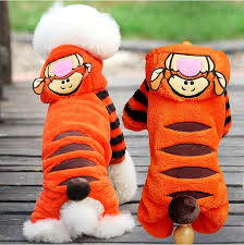 Petcircle Design-New Cute Orange Cartoon Tiger <b>Cosplay Clothes</b> ...