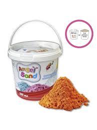 <b>Игровой песок Angel</b> Sand 500 мл Оранжевый ANGEL SAND ...