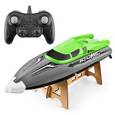 <b>601 2.4G High-speed Remote</b> Control Boat Green One Battery RC ...
