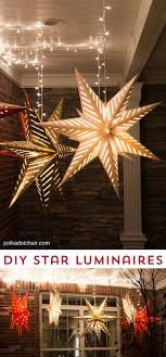 decoration lights outdoors stars ornaments patio