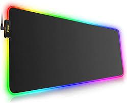 RGB <b>Gaming Mouse Mat</b> Pad <b>Large</b> Thick(800×300×4mm) Hcman ...