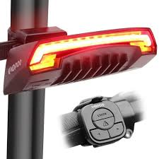 LOPOO X5 Smart Bike Tail Light, <b>USB Rechargeable Bicycle Rear</b> ...