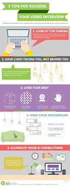 infographic 5 tips for rocking your video interview infographic 5 tips for rocking your video interview