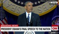「president obama farewell speech」の画像検索結果