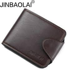 <b>New Arrived</b> Genuine leather <b>man</b> short Wallets <b>Retro</b> cowhide ...