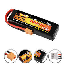 <b>RC Car Lipo Battery</b> 2S 3S 7.4V / 11.1V 10000mah 35C Max 70C ...