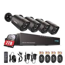 H.View 4ch <b>4.0MP CCTV Camera</b> System Max up to 5.0MP 5 in 1 ...