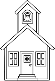 Small Picture Lovely School House Coloring Page Coloring Sky
