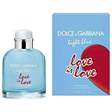 D & G LIGHT BLUE LOVE IS LOVE by Dolce ... - Amazon.com