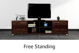 BLUEWUD Millie <b>Wall</b> Mounted <b>TV</b> Entertainment <b>Unit</b> Shelf/Set Top ...
