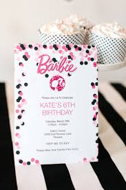 17 best ideas about printable invitations barbie birthday party printable barbie designs