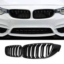 Front Kidney <b>Grille Grill</b> for 2013-2018 BMW 4 series <b>F32</b> F33 F36 ...