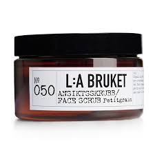 <b>L:A Bruket</b> No <b>50 Petitgrain</b> Face Scrub 100ML | Working Title Clothing