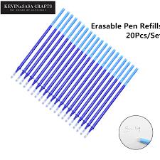 <b>20Pcs</b>/<b>Set</b> Gel <b>Pen Erasable Refill</b> New Office Magic <b>Erasable Pen</b> ...