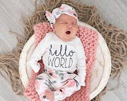 <b>Newborn girl outfit</b> | Etsy