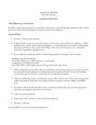 mechanical supervisor resume sample best resume format for mechanical supervisor resume sample security officer resume sample job and template security sample resume examples and