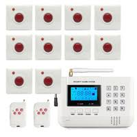 dhl ems delivery touch screen wifi gsm alarm 7 inch tft color display home system security wireless curtain pir detector