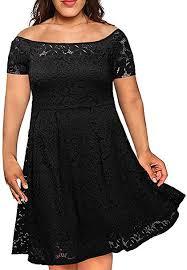 <b>Nemidor Women's Vintage</b> Floral Lace <b>Short</b> Sleeve Plus Size ...