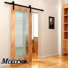 49ft6ft66ft carbon steel sliding barn style interior entry wood door barn style sliding doors