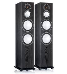 <b>Напольная акустика Monitor Audio</b> Silver 10 Black Oak: цена ...