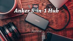 Anker Premium <b>5-in-1 USB</b>-C Hub Review - YouTube