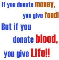GIVE BLOOD ..SAVE LIFE .. | Bonjour!