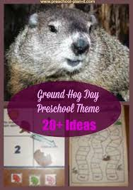 Ground Hog Day Theme For Preschool