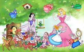 <b>Фотообои</b> Золушка, Белоснежка, Алиса в Стране Чудес   <b>Disney</b> ...