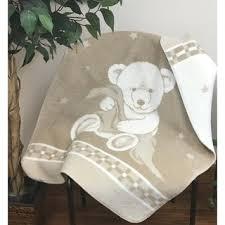 Shop IBENA <b>Pure Cotton Teddy Bear</b> Baby Blanket - Free Shipping ...
