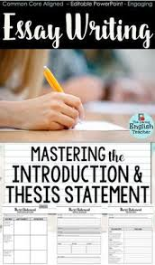 images about essay minilessons for middle school and high  essay writing mastering the introduction and thesis statement teach your middle school and high